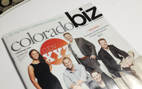 October 2012 Issue of Colorado Business Magazine
