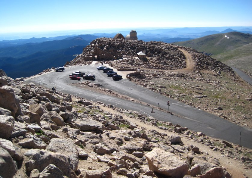 Mt Evans in Colorado